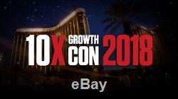 10x Growth Con Grant Cardone Ticket February 22-24 Las Vegas Sold Out
