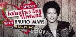 2 Bruno Mars @ Park Theater Monte Carlo Las Vegas 2/14/18 Sold Out Show