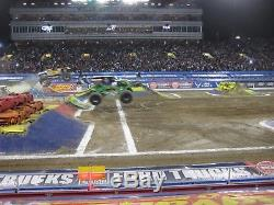 2 FIRST ROW FINISH LINE Monster Jam World Finals 2018 Double Down Packages