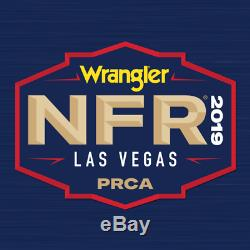 (2) National Finals Rodeo Tickets NFR Low Balcony Thur Dec 12th 12/12/2019 Row G