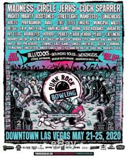 2 Passes to Punk Rock Bowling + Access To Buy After Show Tix, Las Vegas