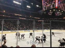 2 Vegas Golden Knights vs San Jose Sharks Game 7 Playoff Tickets 4th Row