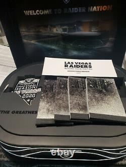 2020 Las Vegas Raiders Member Gift Box with 4 sets of tickets