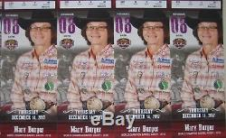 (4) NFR National Finals Rodeo Tickets 12/14/17 Thursday Dec 14 Low Balcony Row G