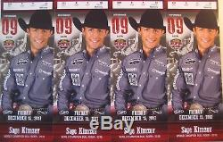 4 NFR National Finals Rodeo Tickets 12/15/17 Friday Dec 15 Low Balcony Row E
