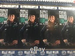 4 National Finals Rodeo Tickets (NFR) Night 8, Thur 12/13 Section 214, Row T