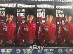4 National Finals Rodeo Tickets (NFR) Night 9, Fri 12/14 Section 214, Row T