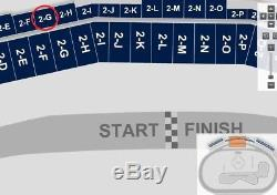 4 Tickets Nascar Las Vegas Complete Weekend Package 2g Lucky 7 Pass 9/14-16