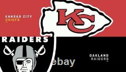 4 Tickets to the SOLD OUT LAS VEGAS RAIDERS vs KANSAS CITY CHIEFS game on SNF