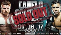 Below Face Canelo Alvarez Vs. Gennady Golovkin Ggg 2 Two Tickets Sold Out Fight