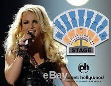 Britney Spears Piece of Me VIP Table Package Seats Front Row Christmas Gift