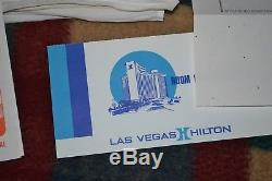 Elvis Concert Scarf Gave To A Fan At The Las Vegas Hilton 1975 No Ticket