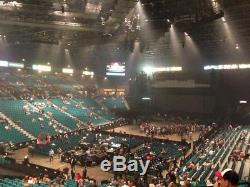 Jay Chou VVIP THE INVINCIBLE 2 Las Vegas MGM 2/09 2Tickets First Ring Row