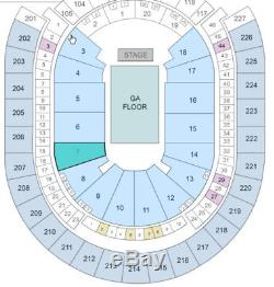 Lady Gaga 2 Tickets Las Vegas T-Mobile Arena 12/16 Lower Level Section 7