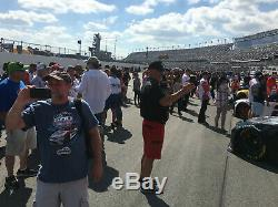 Las Vegas 2020- Sponsor Support of NASCAR Cup Team with 2-Passes, Hot Garage