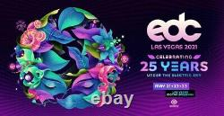 Las Vegas EDC 2021 VIP Tickets (Electric Daisy Carnival) 3 Days Is On For May