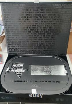 Las Vegas Raiders 2020 Season Ticket Member Gift Box with patch and ticket book