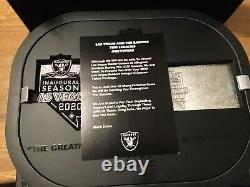 Las Vegas Raiders 2020 Ticket Member Gift Box TICKETS NOT INCLUDED Read Desc