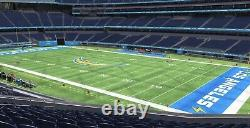 Las Vegas Raiders @ Los Angeles Chargers 2 tickets Monday Section 201 Row 10