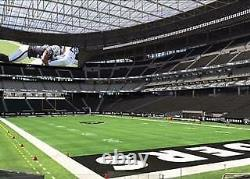 Las Vegas Raiders Personal Seat License (psl) In New Stadium -section 104 Row 20