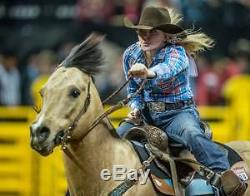 NFR National Finals Rodeo Tickets PLAZA (LOWER LEVEL) Saturday Dec 16, 2017