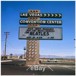 Rare 1964 Beatles Las Vegas Concert Ticket. Fan Stub No Club Figure Program Pin