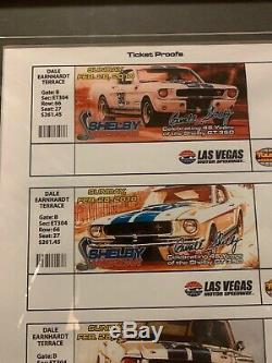 Shelby MustangTicket Proof 45 Years Of The Shelby Gt350 Celebration At Las Vegas