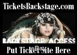 Tickets Backstage. Com Airline Concerts Las Vegas NY Package Vacation Deal Url